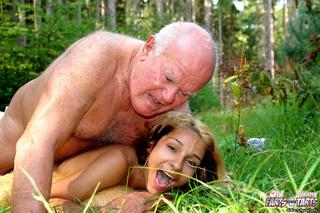 horny grandpa banging skinny