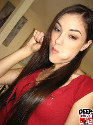 gorgeous sasha can swallow