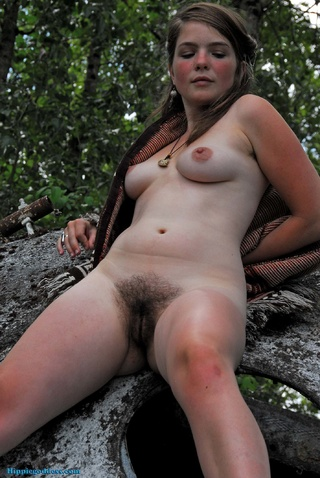 Hippie goddess Naked