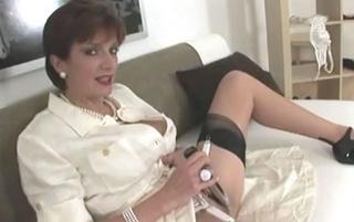 masturbating nylons mature babe