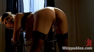 stripper dominated punished oiled