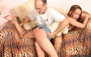sweet young innocent spanked