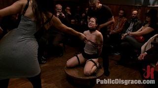 bound slave girl cock