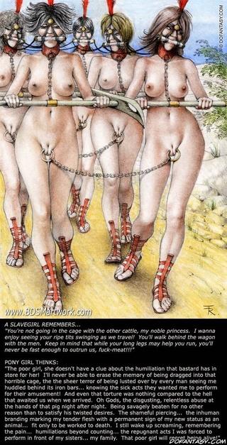 Bdsm harem slave torture