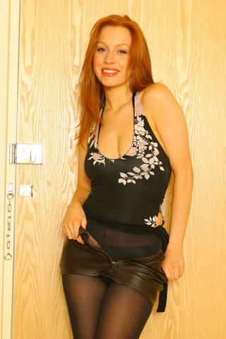 sexy redhead alexandra opaque
