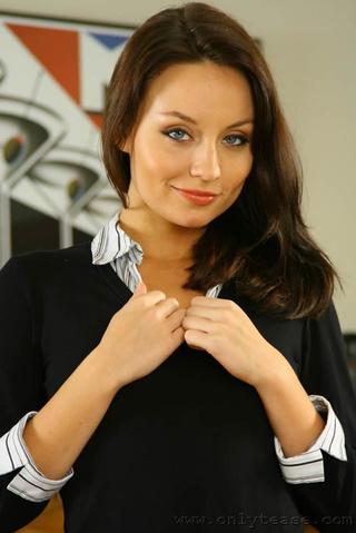 sexy secretary carla strips