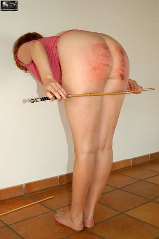 big ass hard spanking