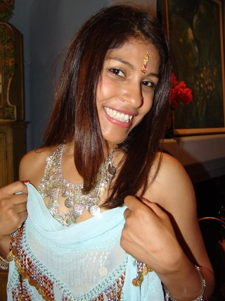 young indian babe with