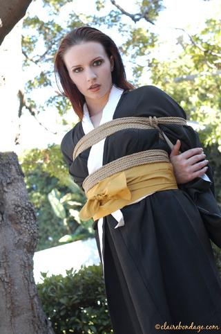 lovely redhead stunner kimono