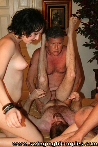real swingers party lot