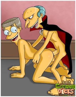 simpsons depraved porno gay