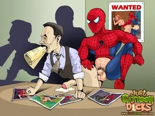 Spiderman porno tegneserie