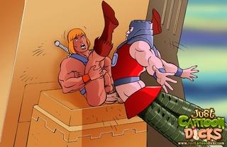 making war mans asses