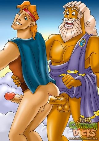 Famous cartoon porn gay