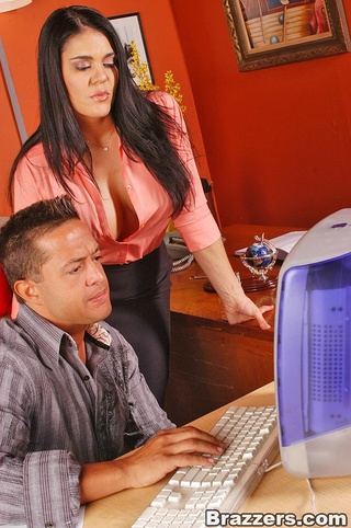 big titted office girl