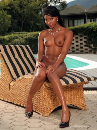 exotic ebony beauty nice