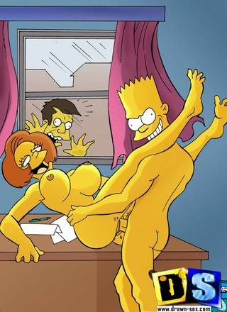 Something is. Simpsons pussy licking porn
